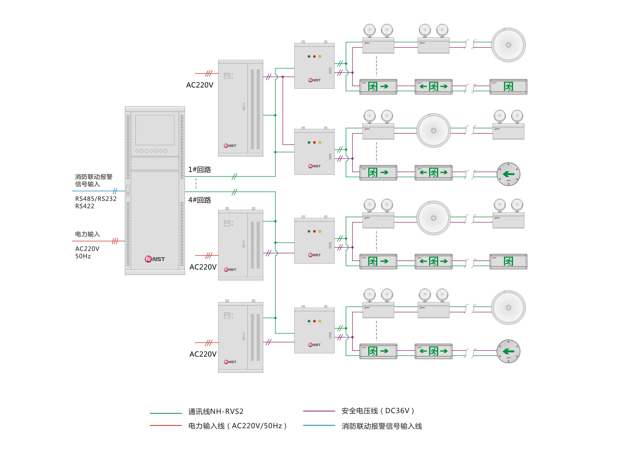 集中器485接线图识图